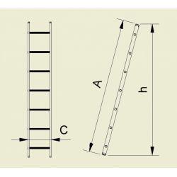 SCARA SIMPLA 1X8 TR