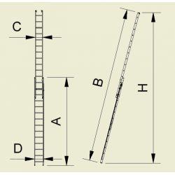 SCARA CULISANTA  CU CABLU 2X14
