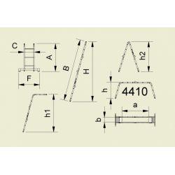 SCARA ARTICULATA FORTE 4X3